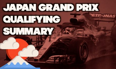 Japanese Grand Prix Qualifying Results
