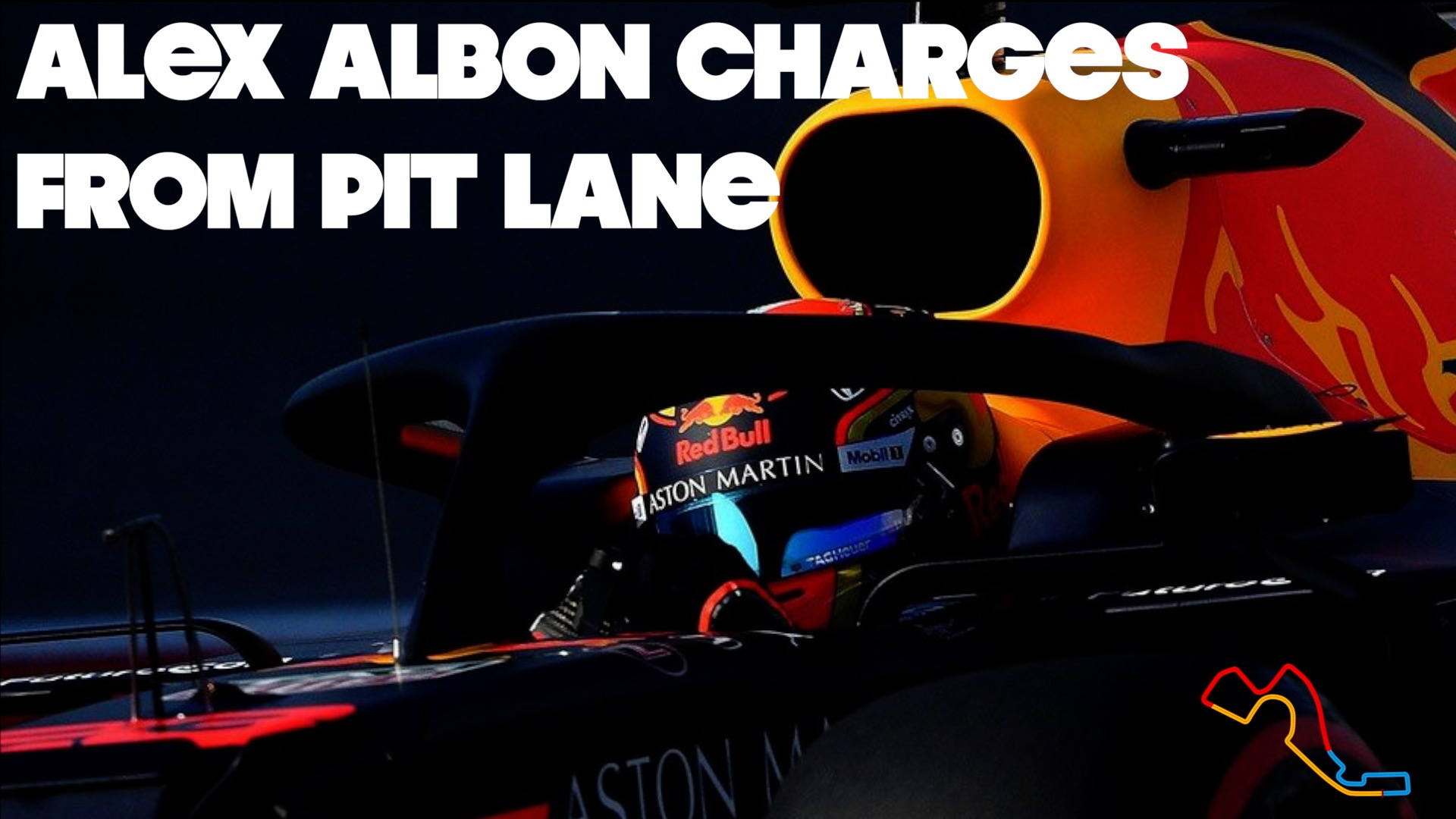 Alex Albon Russia Charge Pit Lane To P5: 2019 Russian Grand Prix ONBOARD