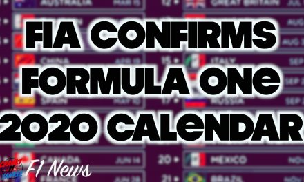 FIA Confirms 2020 F1 Calendar: F1 News Videos