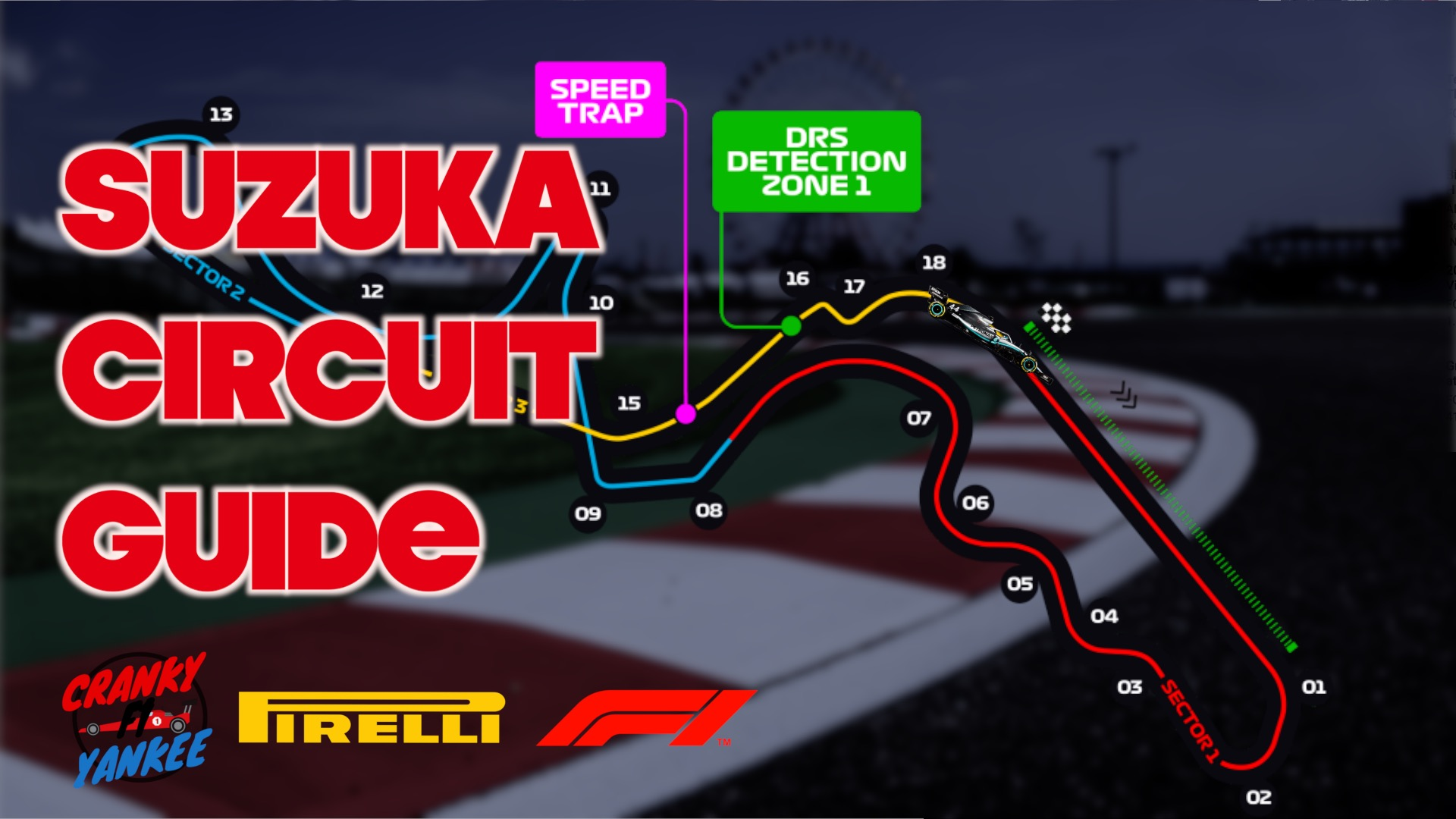 Japanese Grand Prix Suzuka Circuit Guide: Technical Analysis