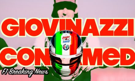 Antonio Giovinazzi 2020 Seat Confirmed With Alfa Romeo