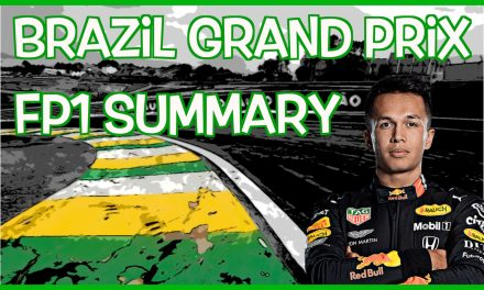 Brazilian Grand Prix FP1 Results
