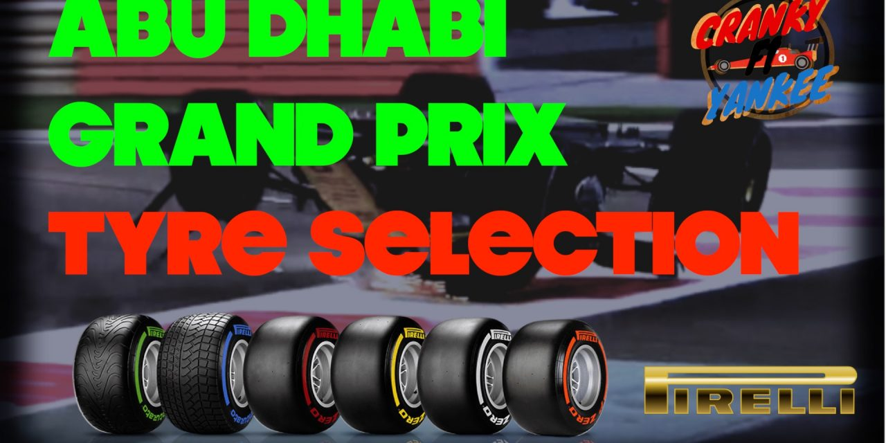 Red Bull Take Softest Tyres To Final F1 Race: Abu Dhabi Grand Prix Tyre Guide [INFOGRAPHIC]