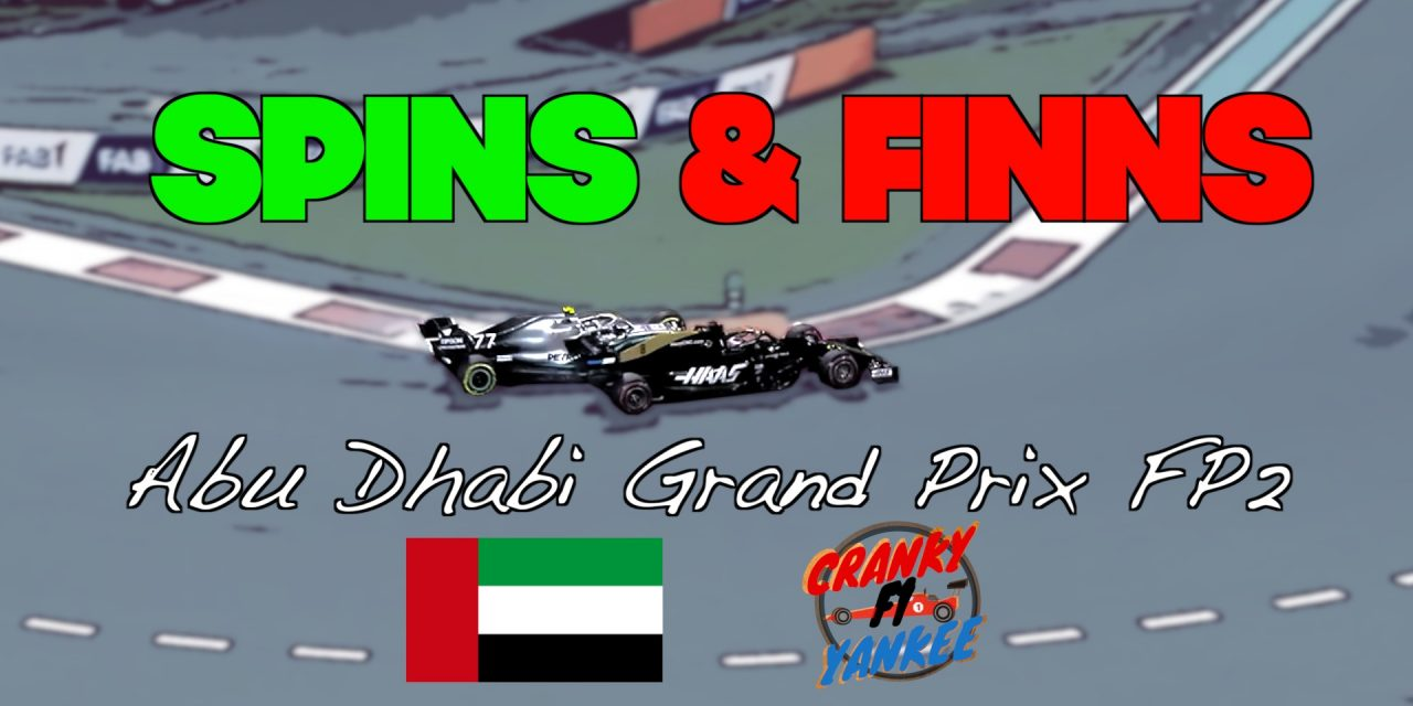 Abu Dhabi Grand Prix FP2 Results