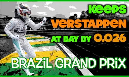 The Silver Arrows Join The Party – Brazilian Grand Prix FP3 Results