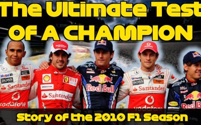 The Thrilling Story Of The Formula 1 2010 Season